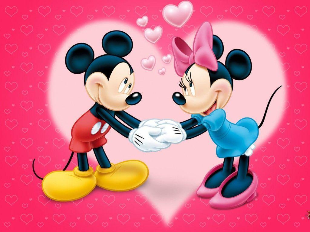 1024x768 Mickey And Minnie Wallpapers
