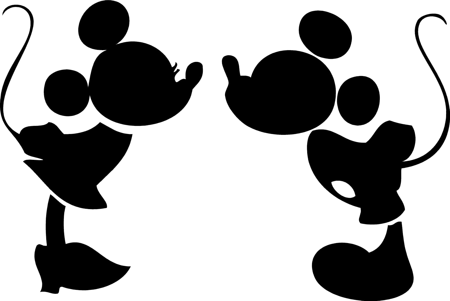 1500x1002 Minnie bow clipart silhouette - AbeonCliparts | Cliparts & Vectors