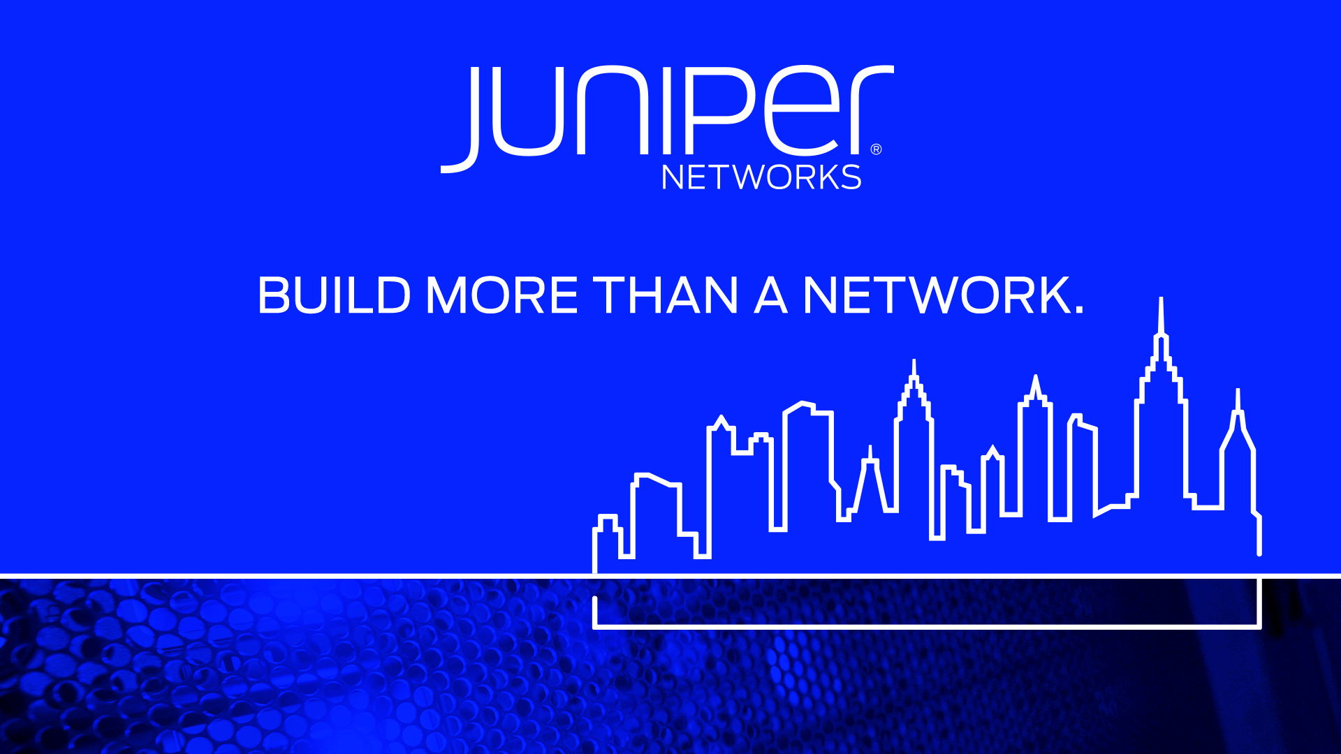 1920x1080 Juniper Networks (NYSE: JNPR) Rings the NYSE Opening Bell®