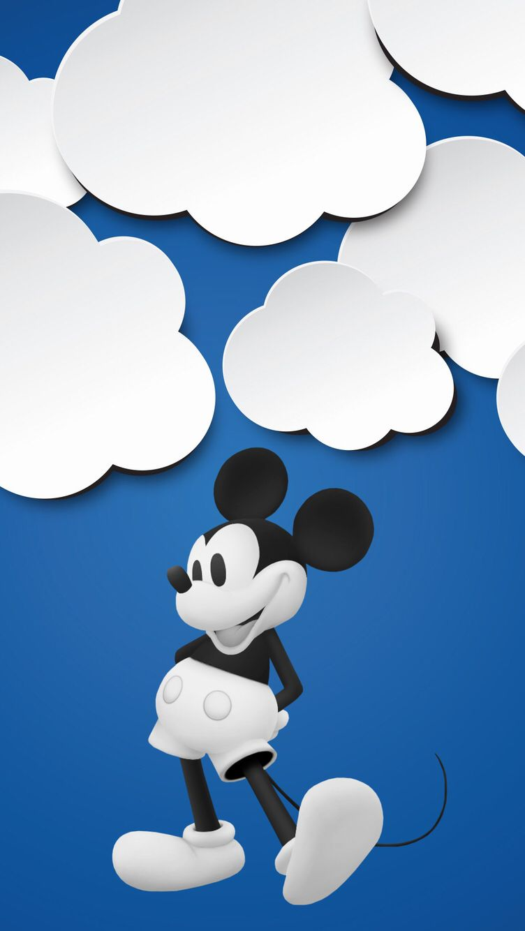 752x1334 Обои iPhone wallpapers Mickey Mouse | Обои iPhone wallpapers ...