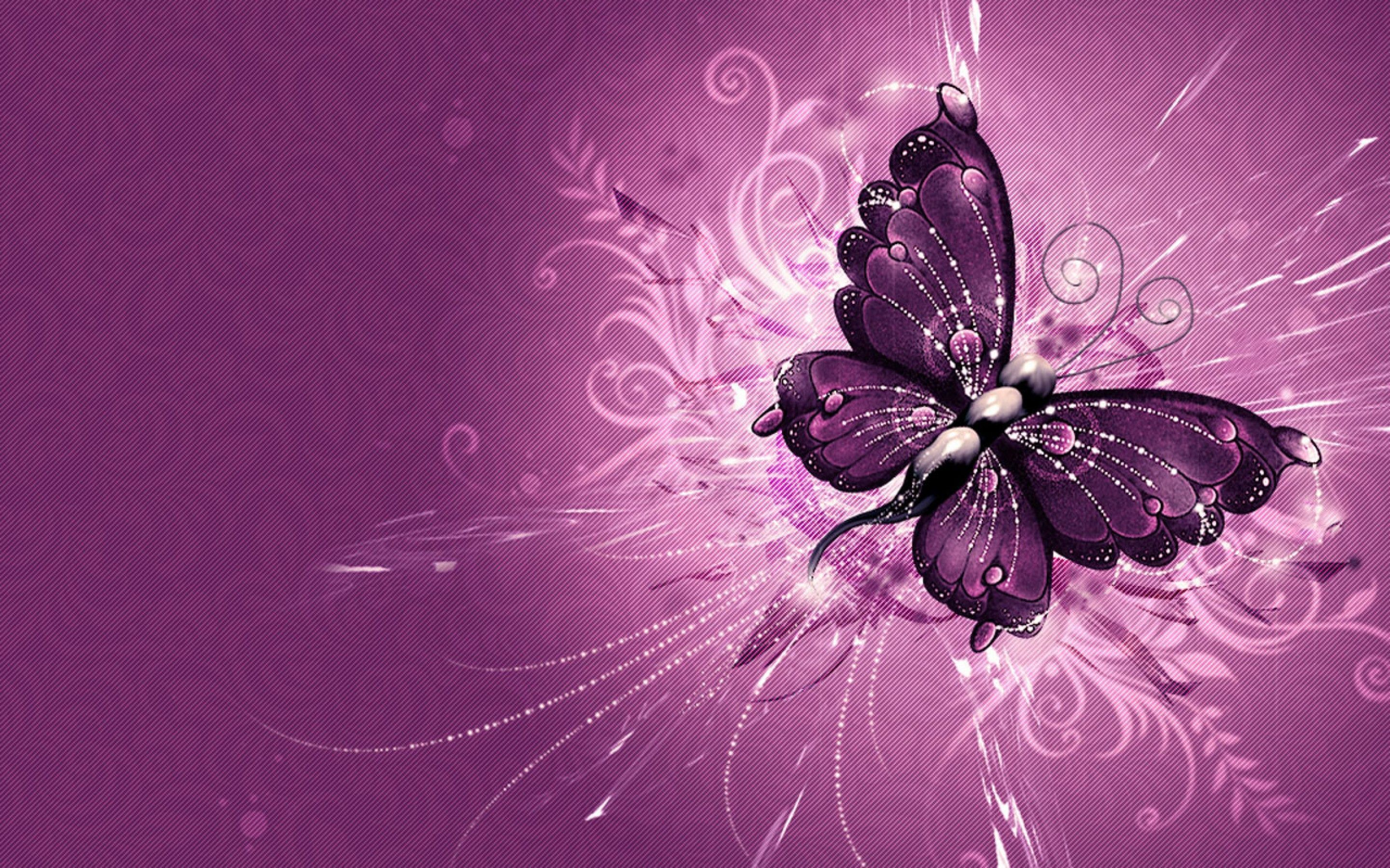 2880x1800 hot pink and black butterfly wallpaper - Google Search | Wallpaper ...