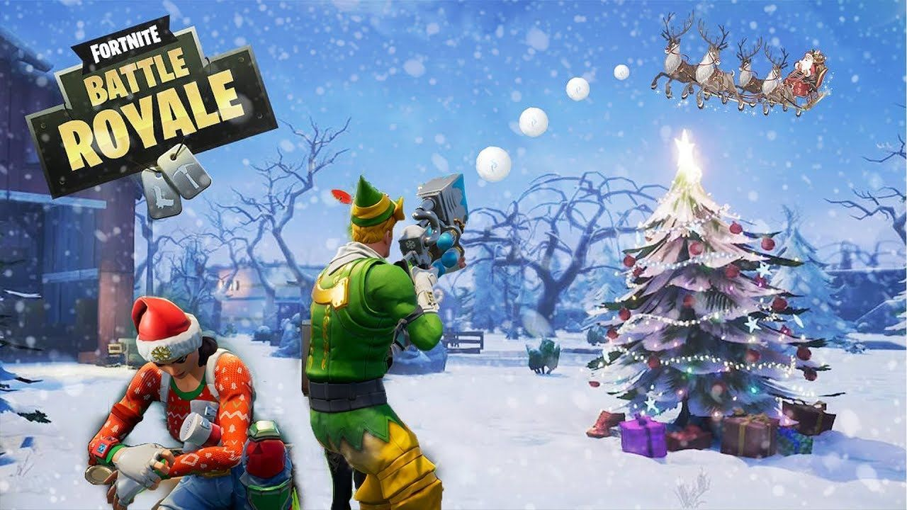 1280x720 Christmas Fortnite Wallpapers