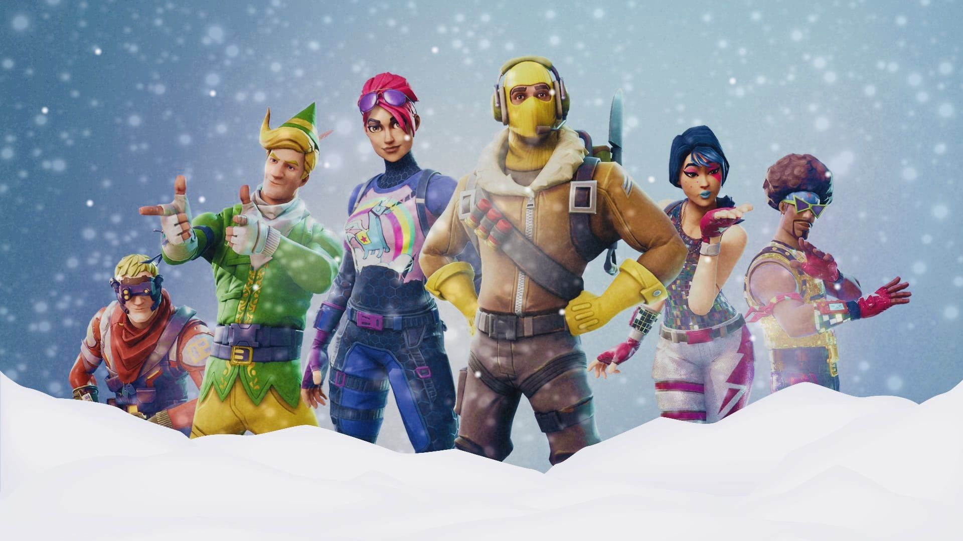 1920x1080 Snow way! Fortnite leak all but confirms winter makeover