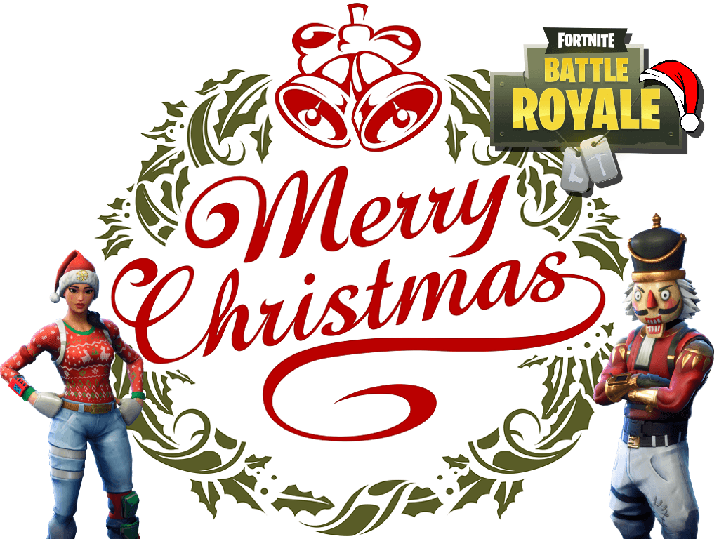 1024x768 Fortnite Christmas Wallpapers