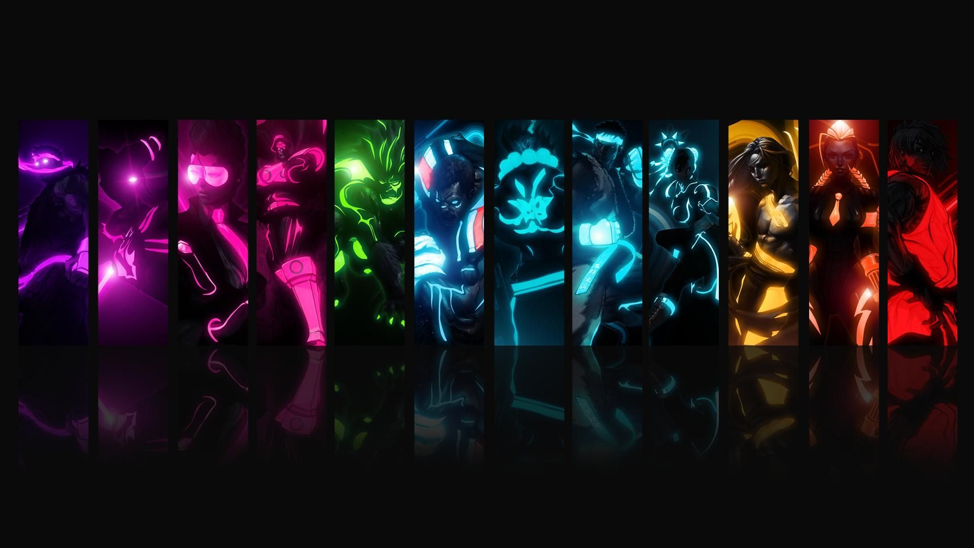 1920x1080 Pin by crystal . on bright colors | Wallpaper, Cool anime wallpapers ...