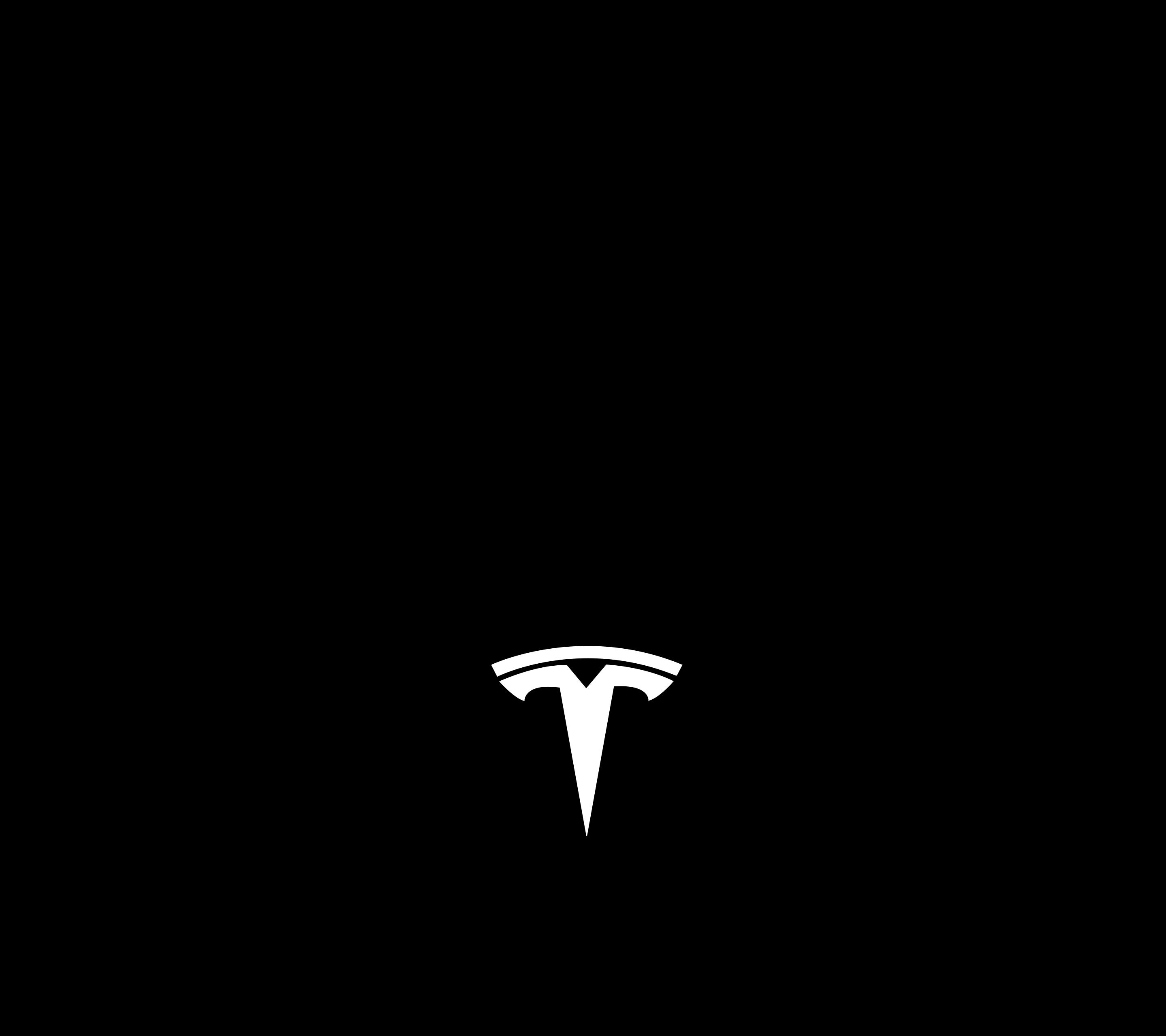 2880x2560 I traced a vector of the tesla logo so I could make a full ...