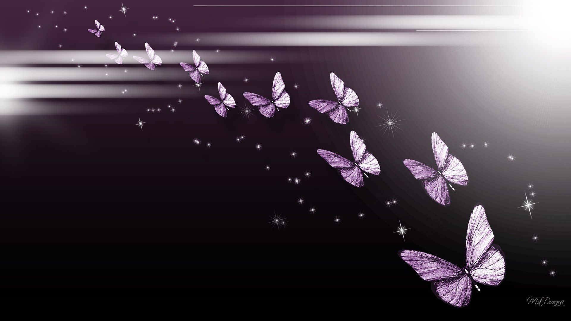 1920x1080 Purple Butterfly Parade wallpaper free | Fibro Faith Hope ...