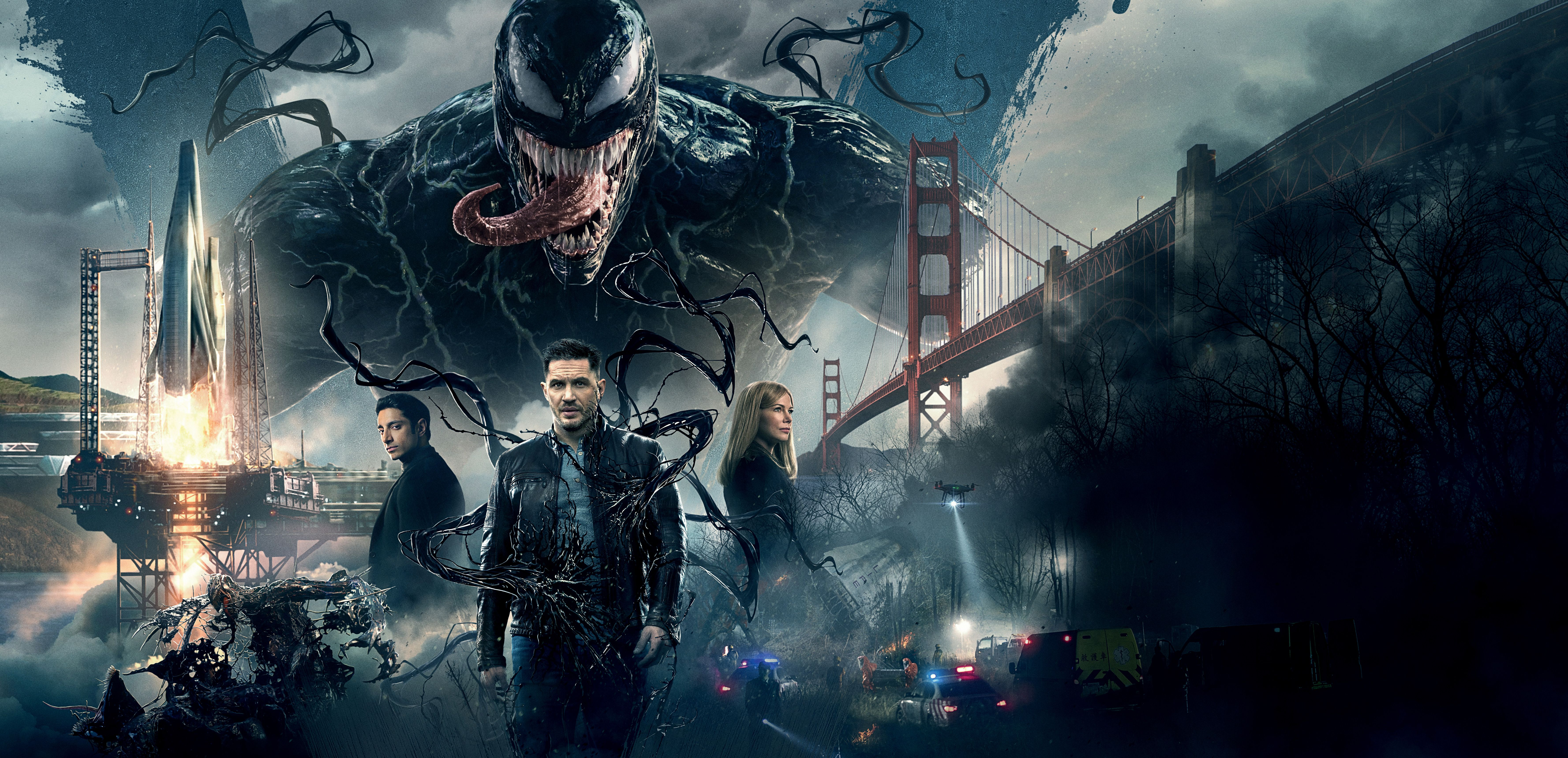 7110x3437 Venom Movie 2018 8k, HD Movies, 4k Wallpapers, Images, Backgrounds ...