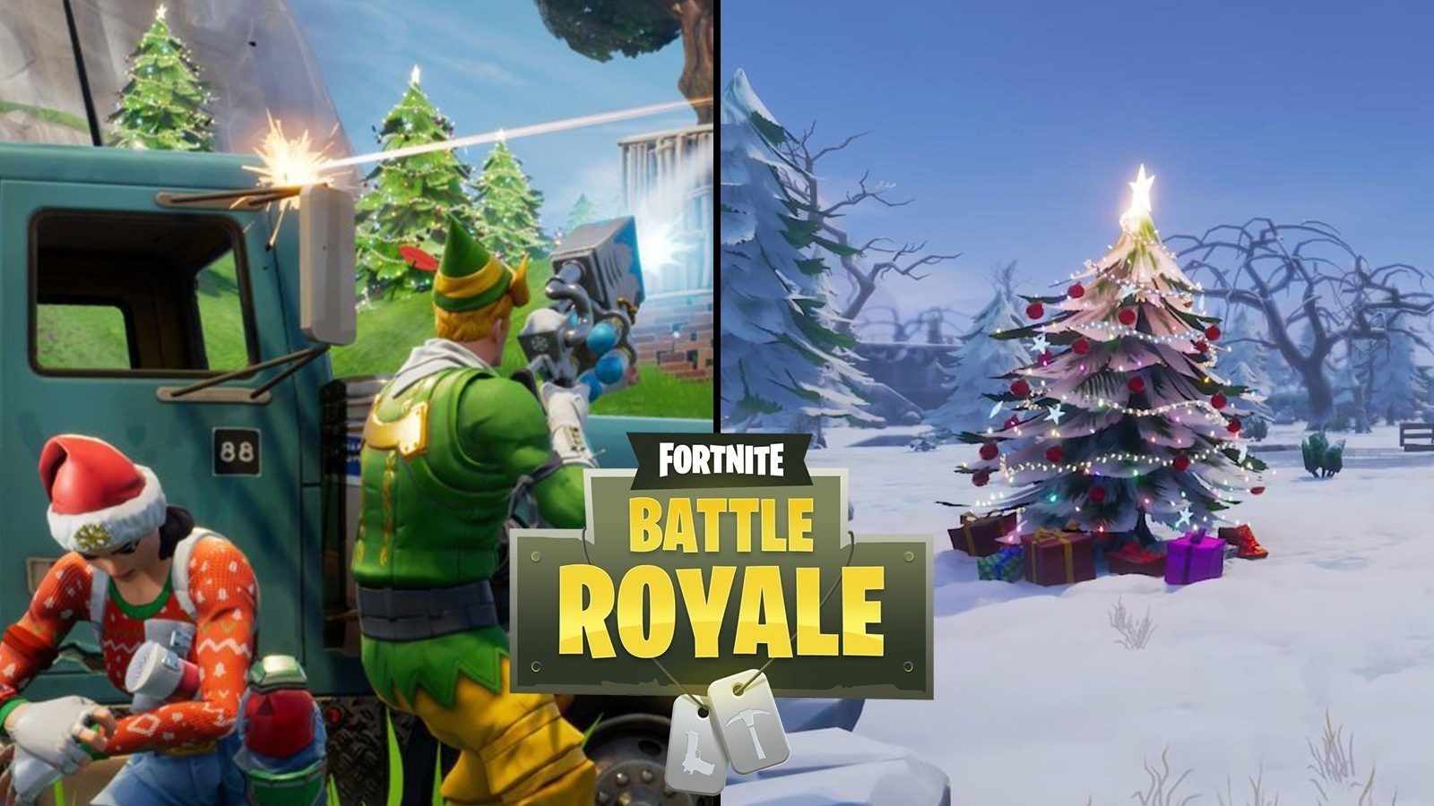 1600x900 This amazing fan-made Fortnite Christmas skin will get you in the ...