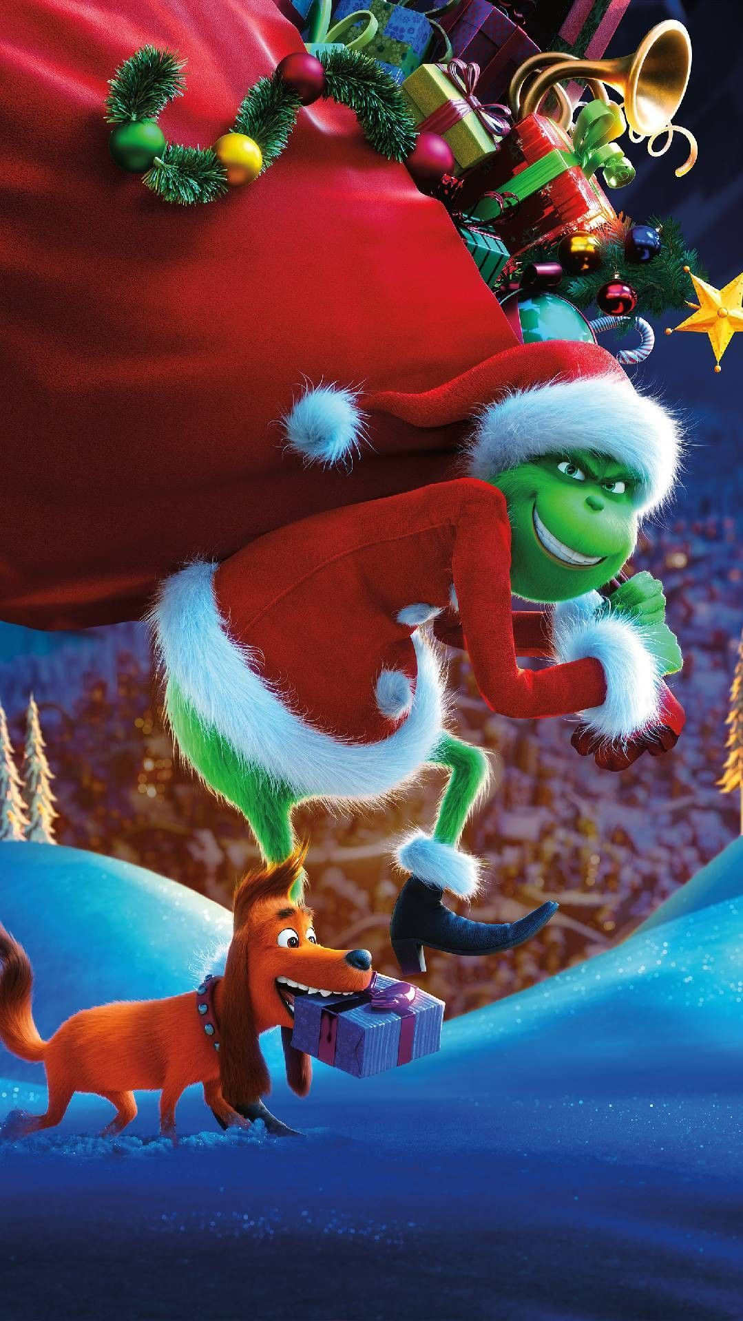 1079x1919 Pin by Morgan Noble on The Grinch | Grinch, Iphone wallpaper ...