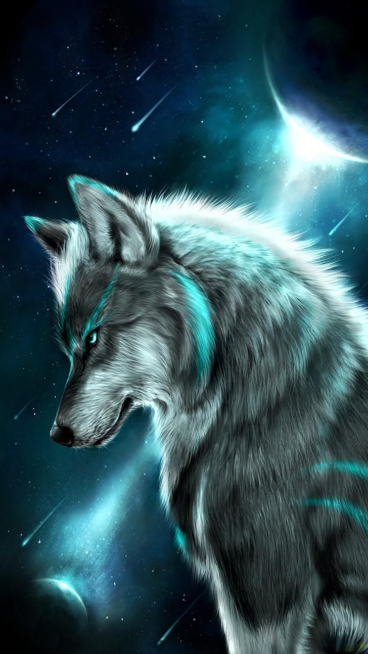 720x1280 Download wolf Wallpaper by georgekev - d0 - Free on ZEDGE™ now ...