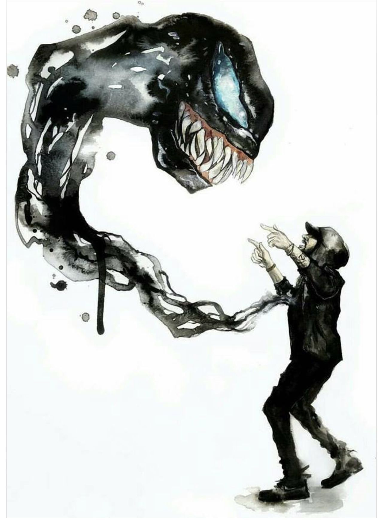 1290x1739 The music video for venom from Eminem was so awesome, so this ...