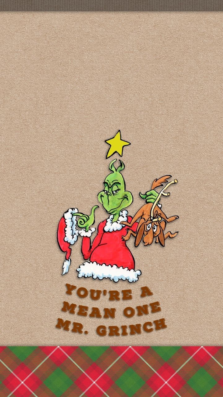 720x1280 ༶Tee༶ — You're a Mean One Mr. Grinch Christmas Holidays ...