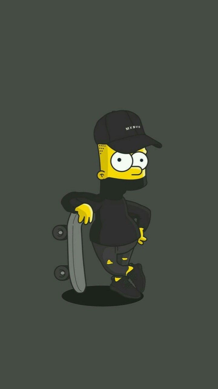 720x1280 bart simpson wallpaper | Tumblr