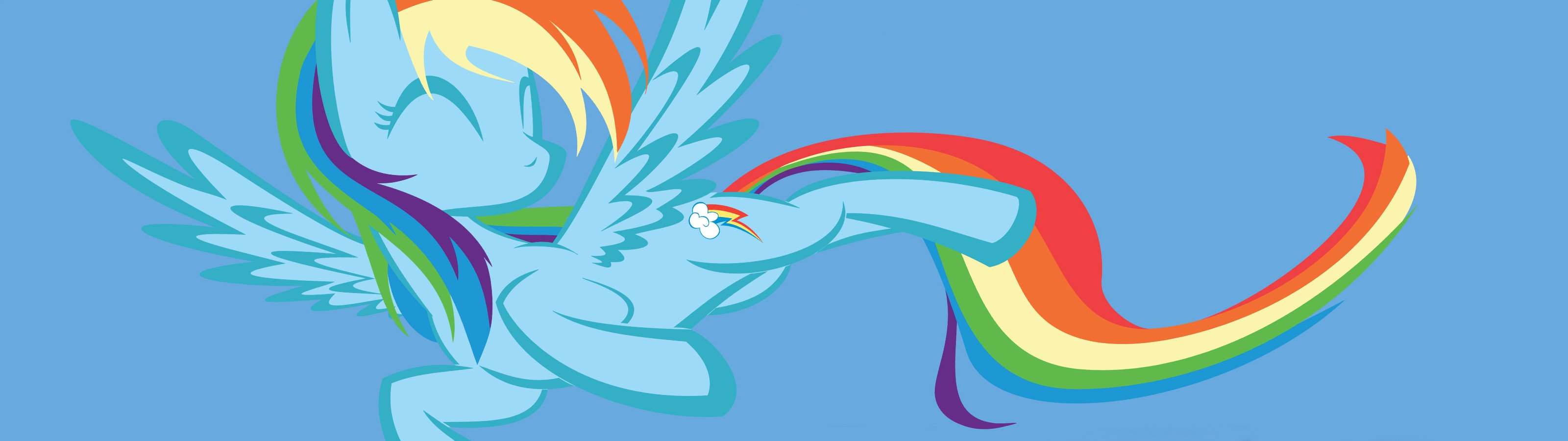3200x900 Dual monitor My Little Pony (MLP) wallpapers, HD backgrounds