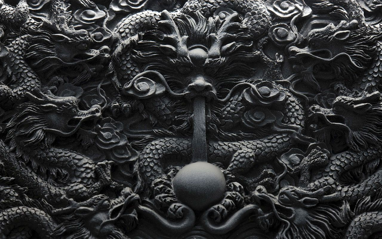 1280x800 Year Of The Dragon Design Wallpaper | Wallpaper Gallery