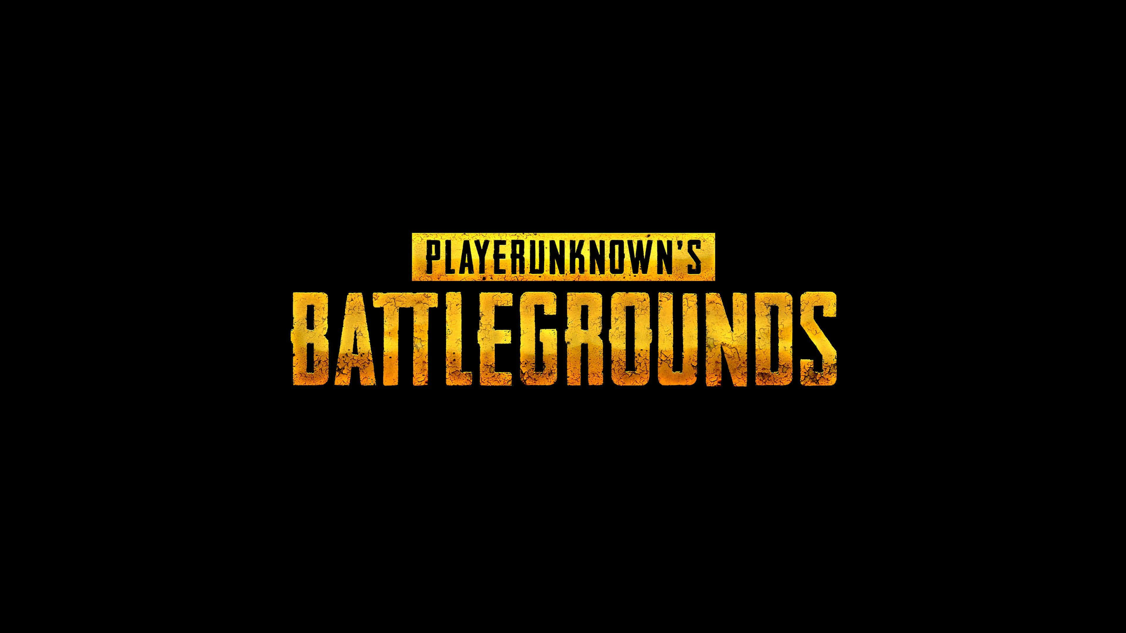 3840x2160 PUBG Player Unknown Battlegrounds Logo UHD 4K Wallpaper | Pixelz