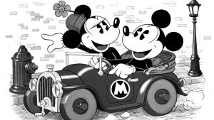 Mickey and Minnie Mouse Black and White Wallpapers – Top Free Mickey and Minnie Mouse Black and White Backgrounds