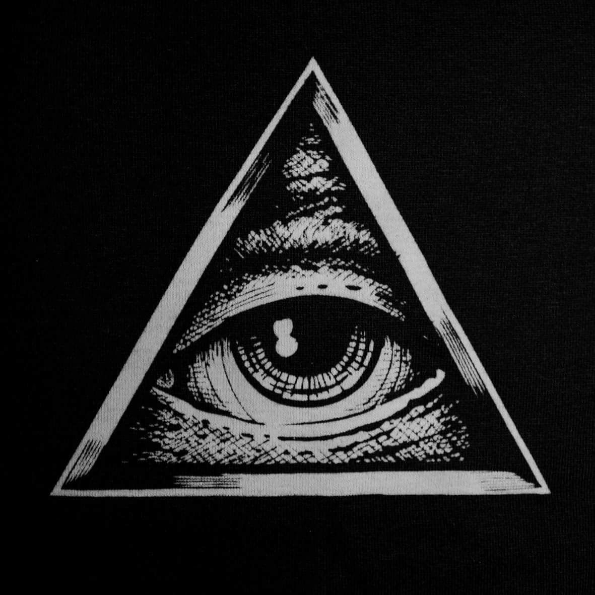 1181x1181 Pin by emzachoo on Hand or neck tattoo | Pinterest | All seeing eye ...