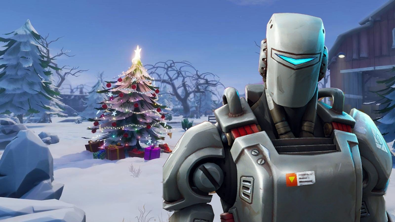 1600x900 Fortnite's A.I.M skin could be hinting at a Winter Theme coming ...