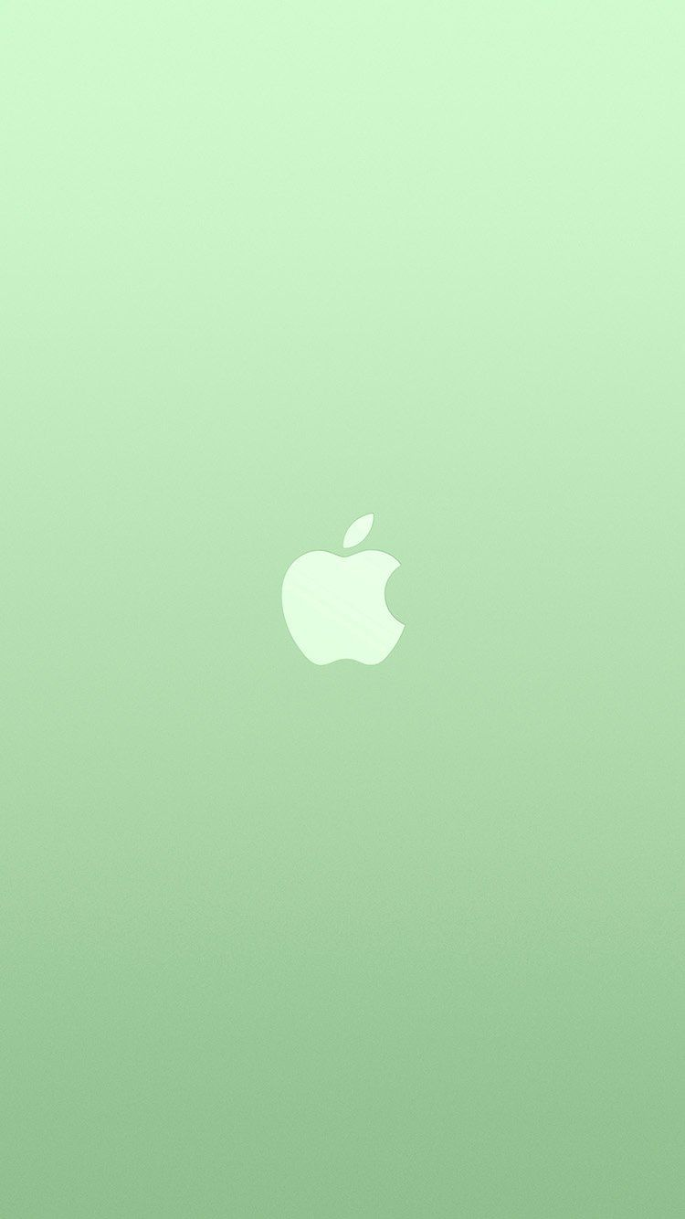 750x1334 iPhone7papers.com | iPhone7 wallpaper | au18-logo-apple-green-white ...