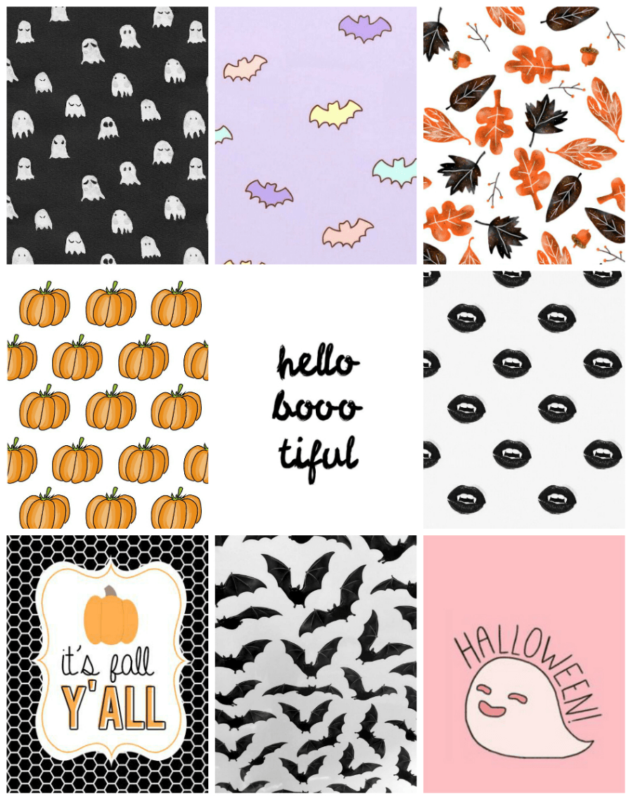900x1139 Cute Halloween Wallpapers For Your iPhone   Witch Cake