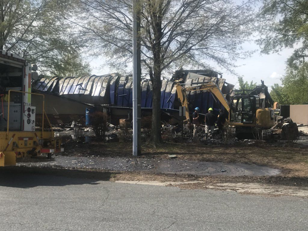 1024x768 Fire destroys IHOP at Chesapeake Square | WTKR.com