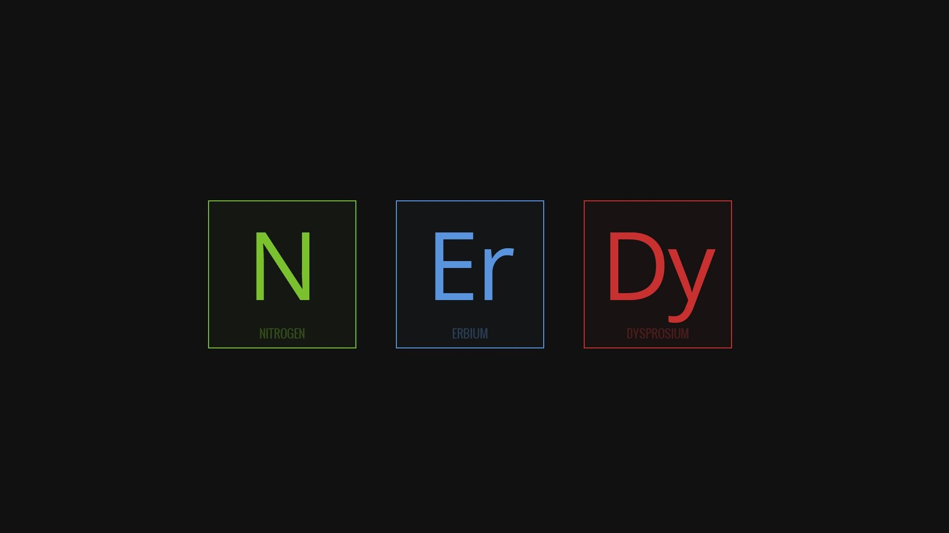 1920x1080 Science Nerds Minimalism, HD Typography, 4k Wallpapers, Images ...