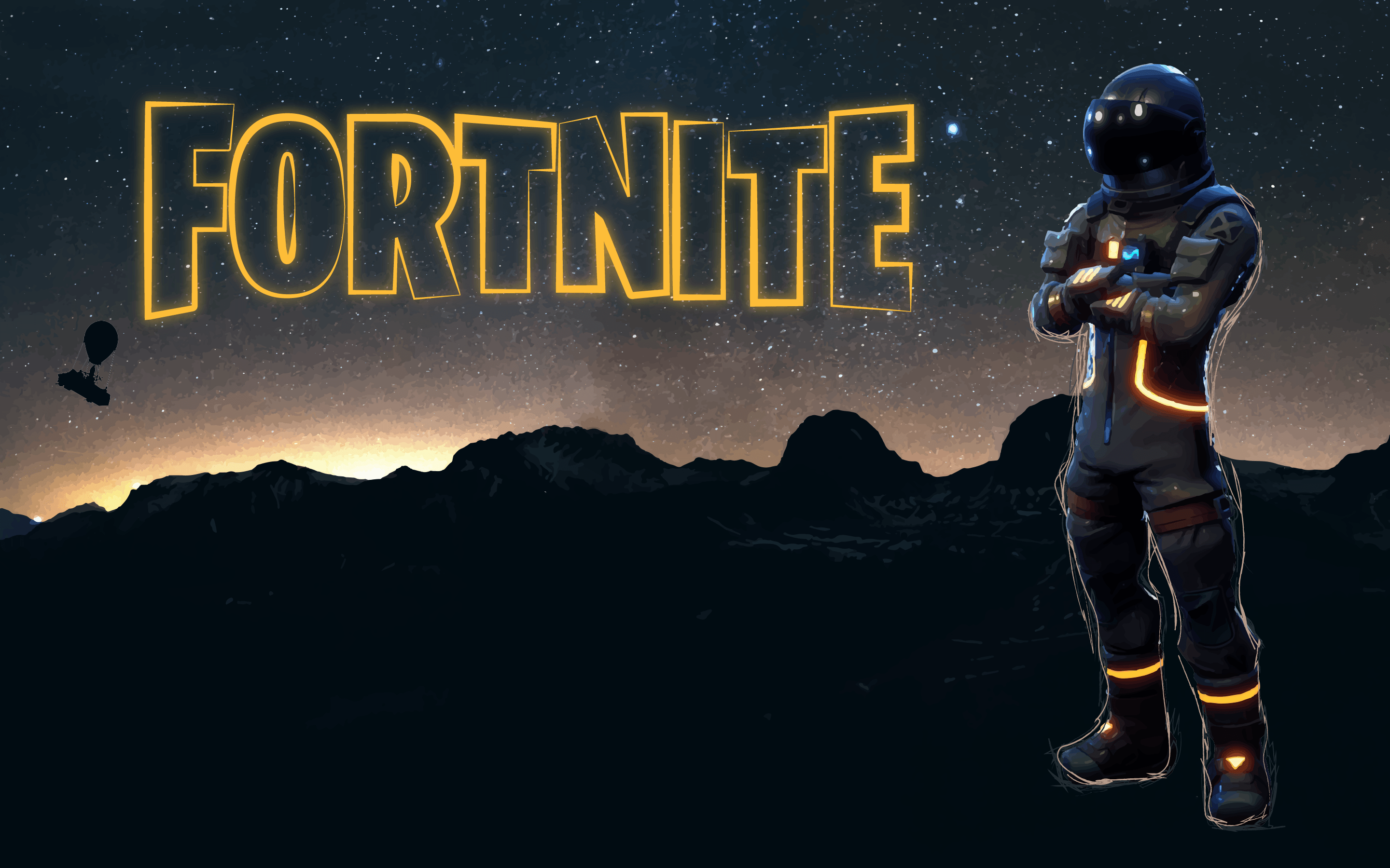 2880x1800 Dark Voyager Clean Wallpaper [As requested - Feedback Welcome ...