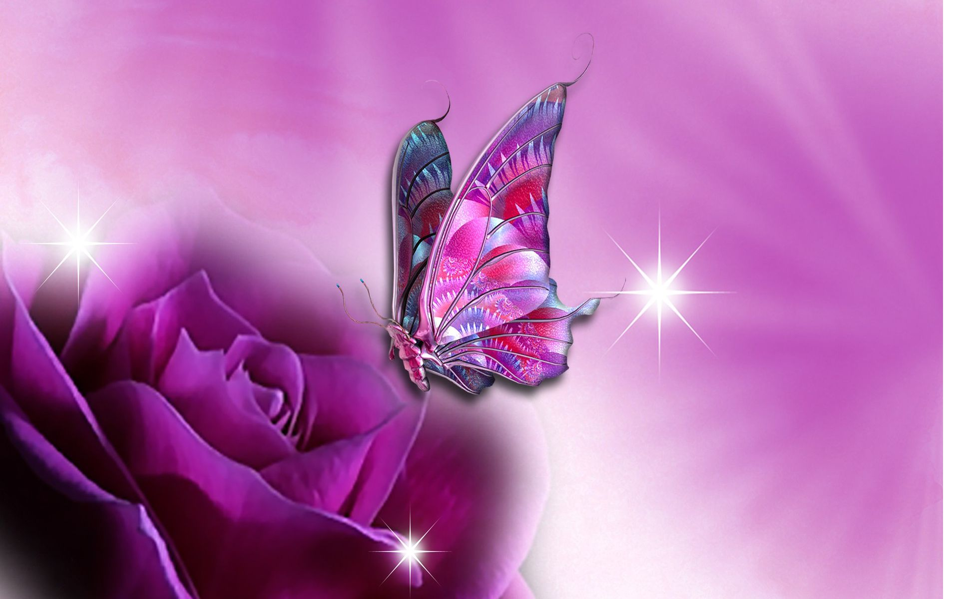 1920x1200 21 Colourful And Free Butterfly Wallpaper | flowers and butterflies ...