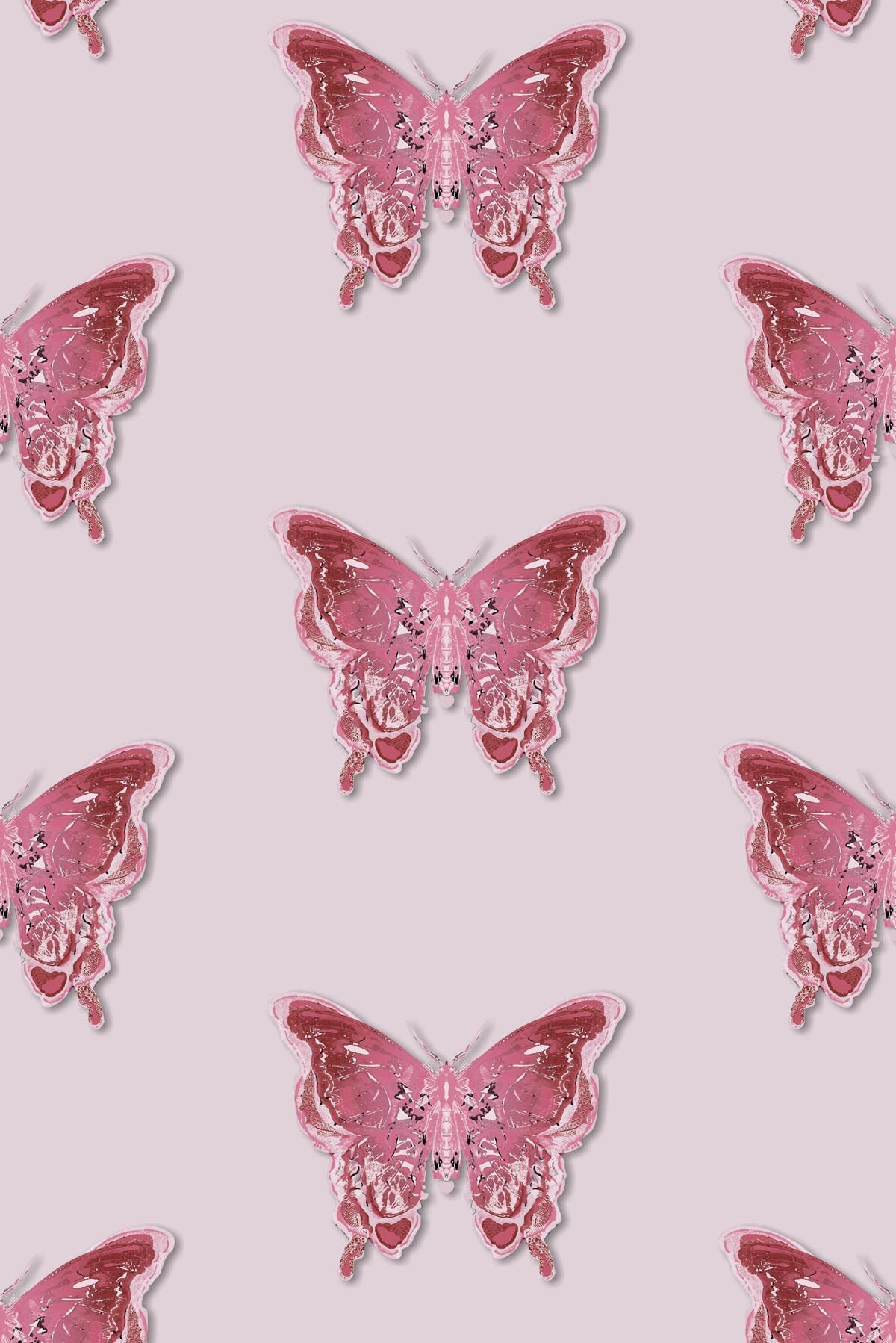 1200x1798 Timorous Beasties Wallcoverings - Butterfly wallpaper
