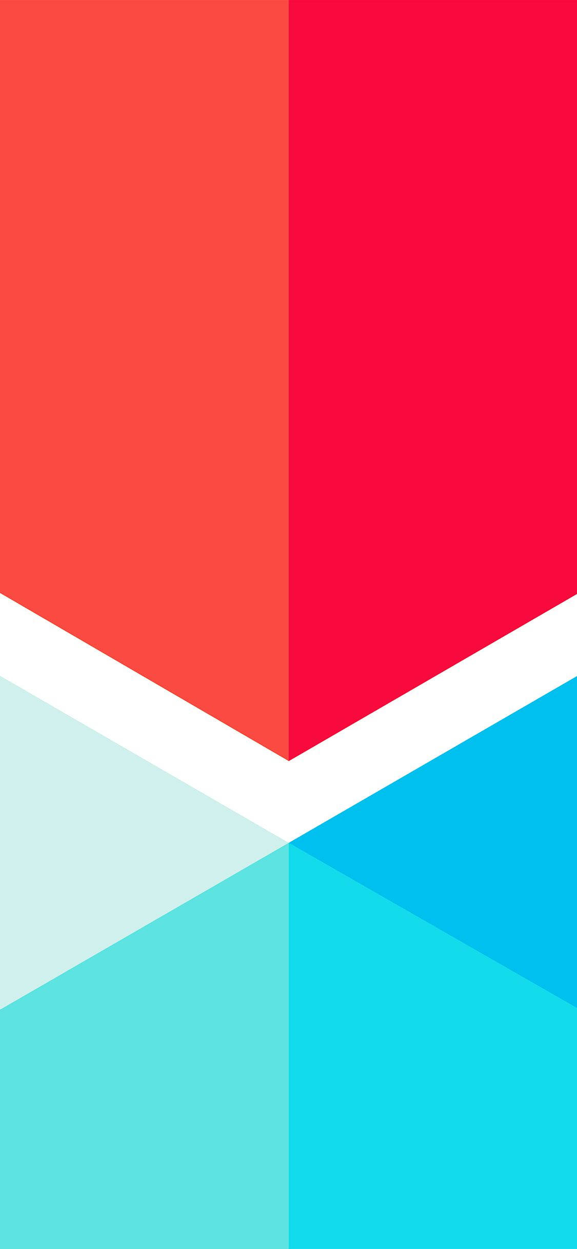 1125x2436 iPhoneXpapers.com | iPhone X wallpaper | vr42-polymail-red-blue-by ...