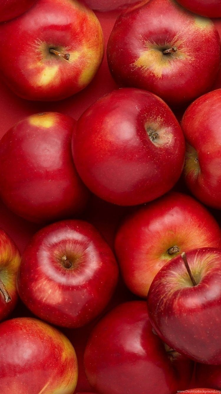 750x1334 Red Apple iPhone 6 Wallpapers 34687 Food And Drink iPhone 6 ...