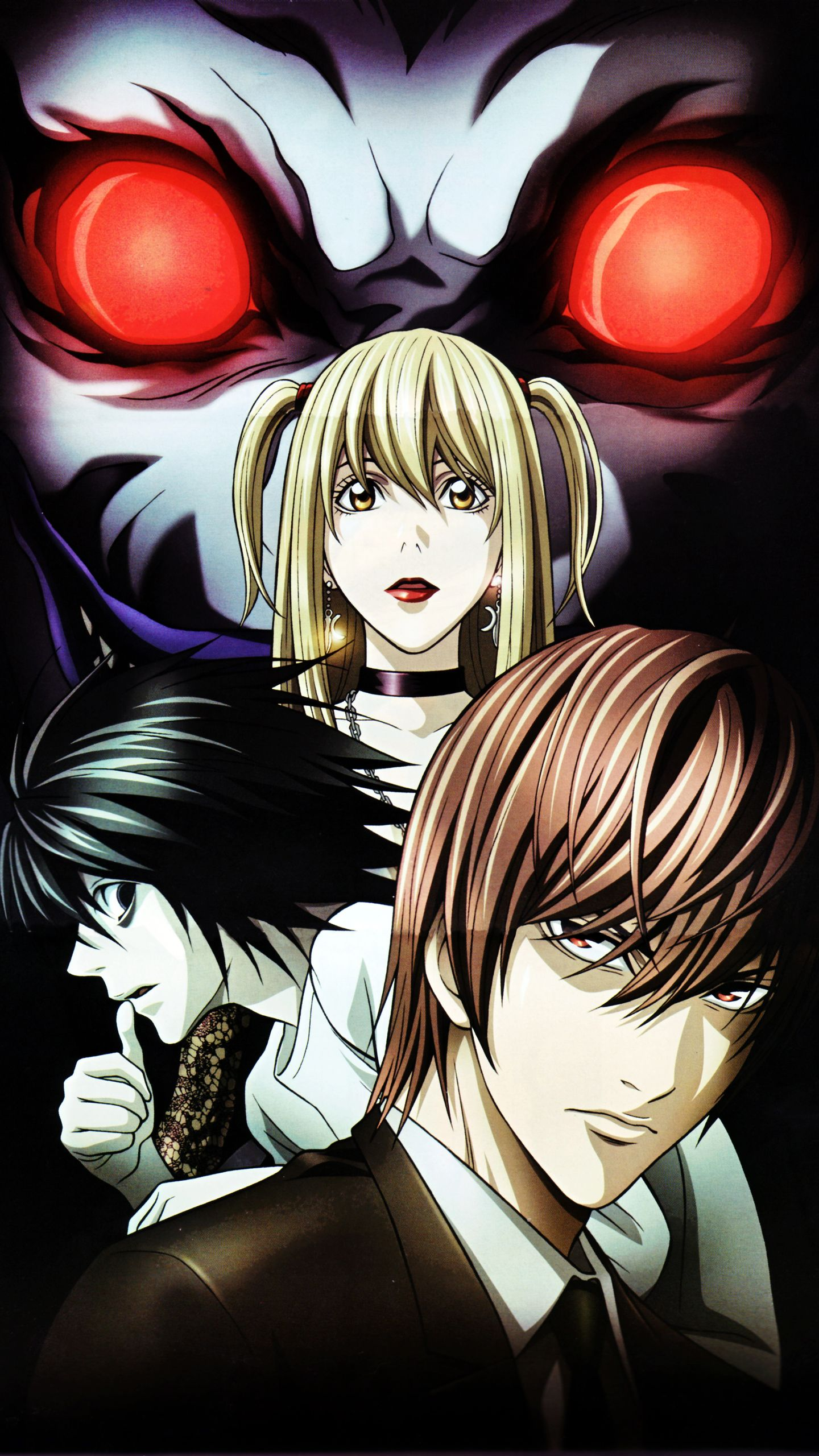 1440x2560 The Forgotten Lair   Death Note Mobile Wallpapers