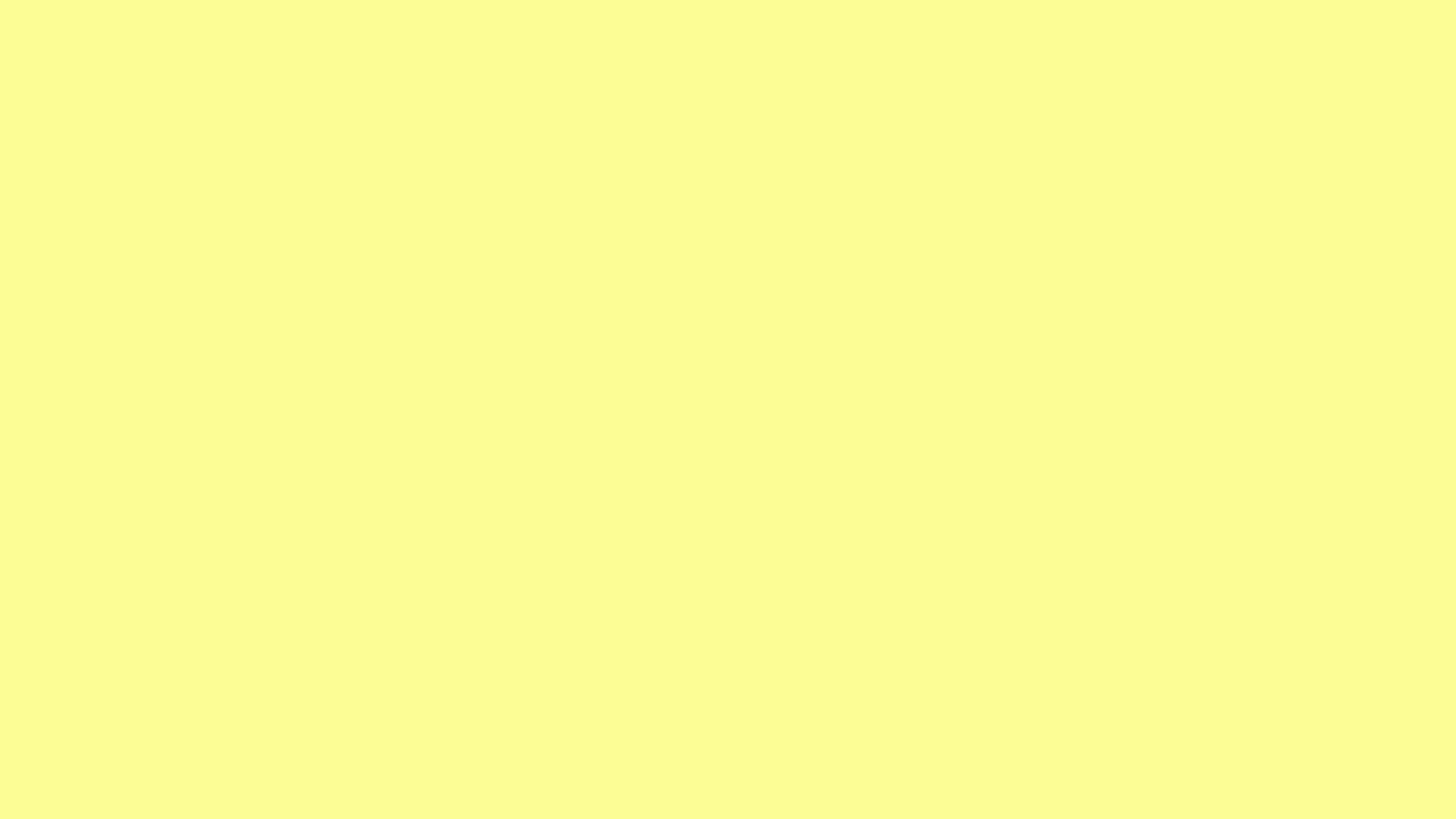 2560x1440 2560x1440 Pastel Yellow Solid Color Background