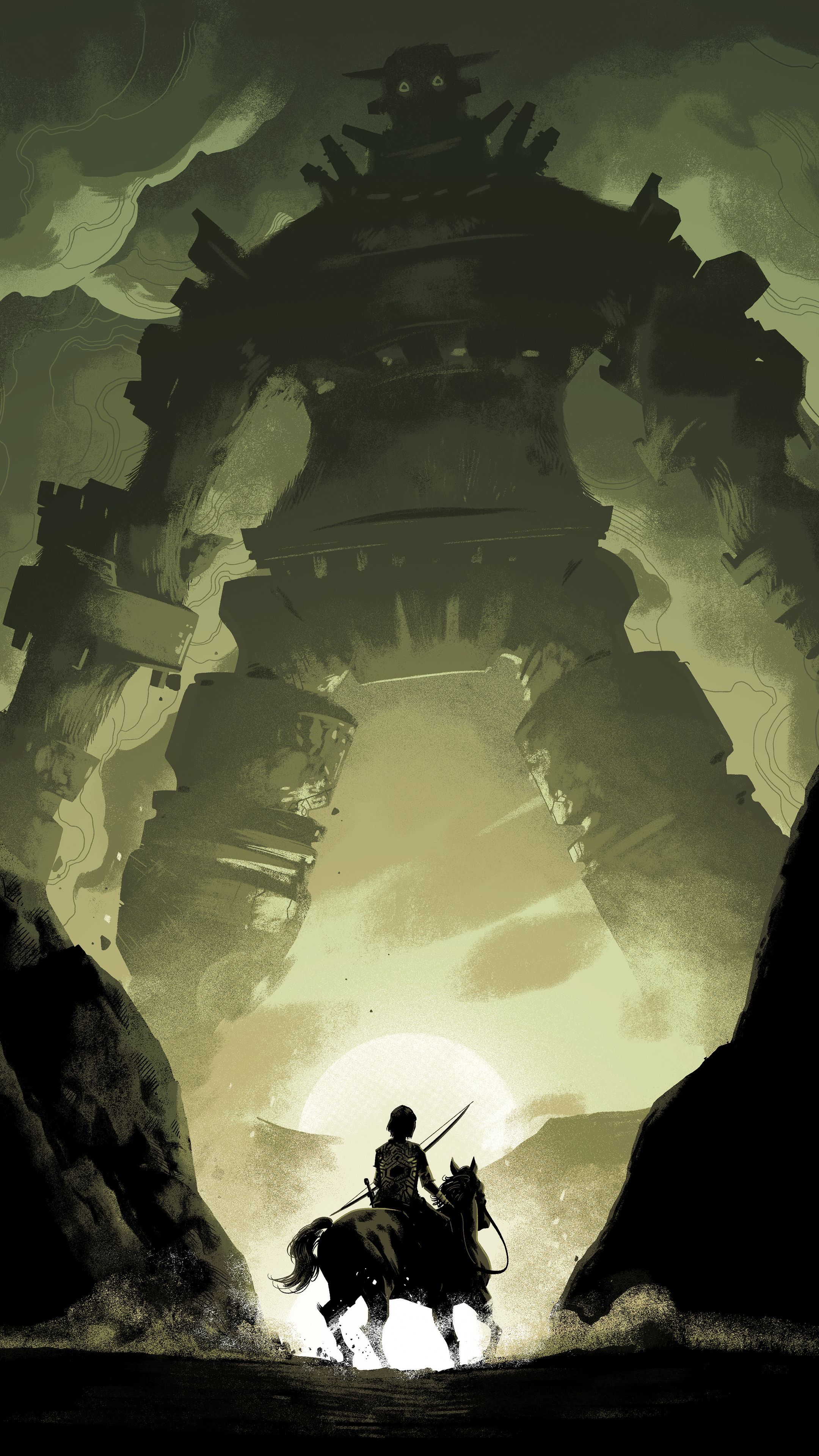 2160x3840 Misc #Shadow Of The Colossus 2018 #wallpapers | Misc in 2019 ...