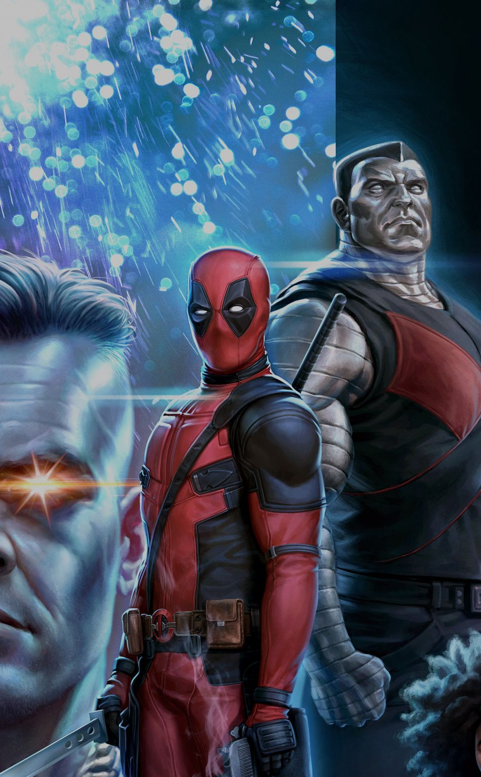 950x1534 Download 950x1534 wallpaper deadpool 2, cable, deadpool, colossus ...