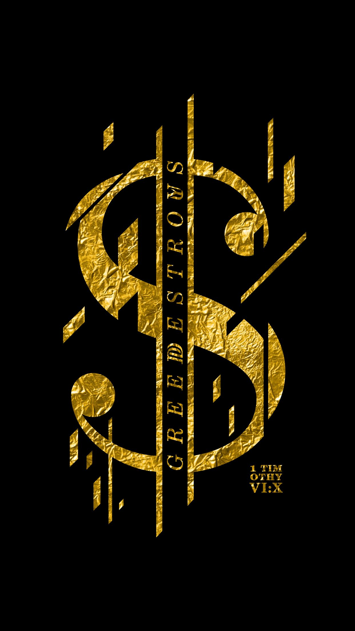 1242x2208 Love of Money – Greed Destroys Us   digifotobook by Zachary Chione