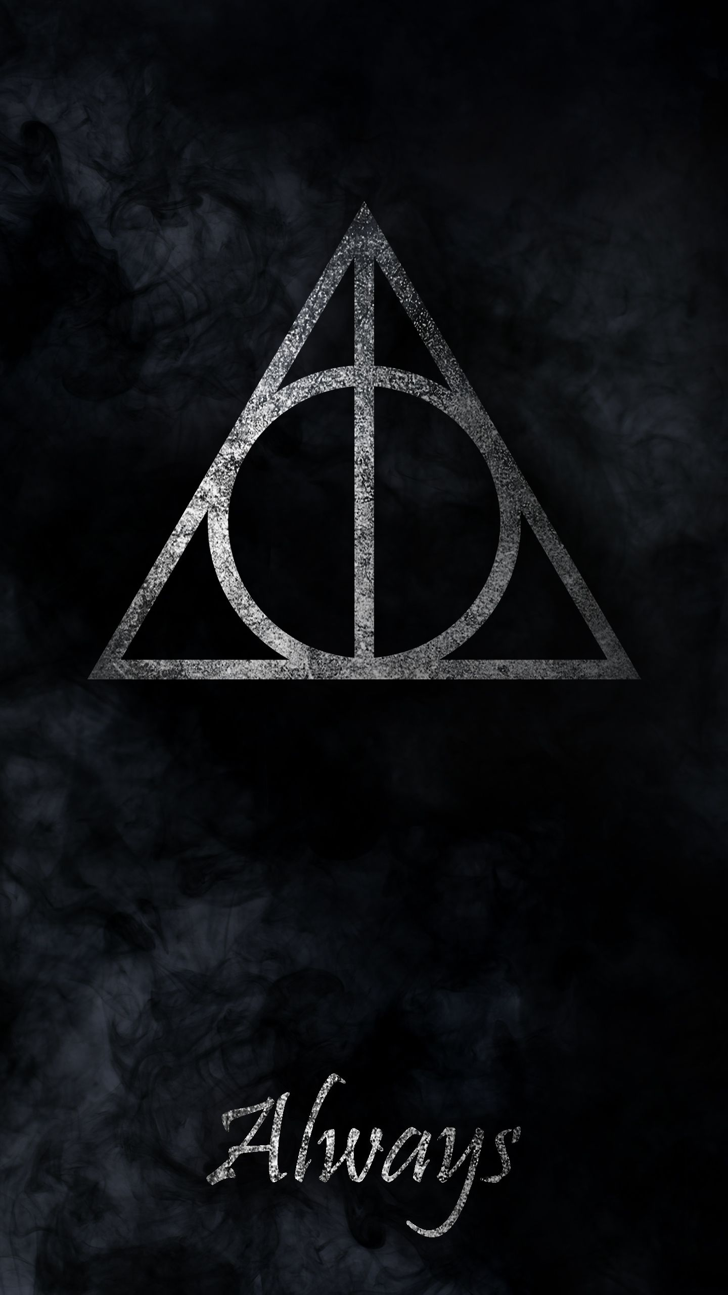 1440x2560 Harry Potter and the Deathly Hallows phone wallpaper | Hp in 2019 ...
