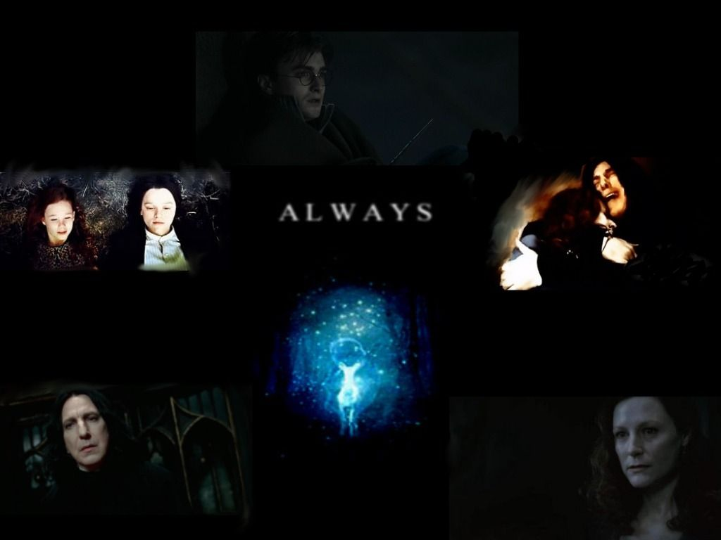 1024x768 harry potter imagens Snape - Lily - Harry Always ♥ HD wallpaper and ...