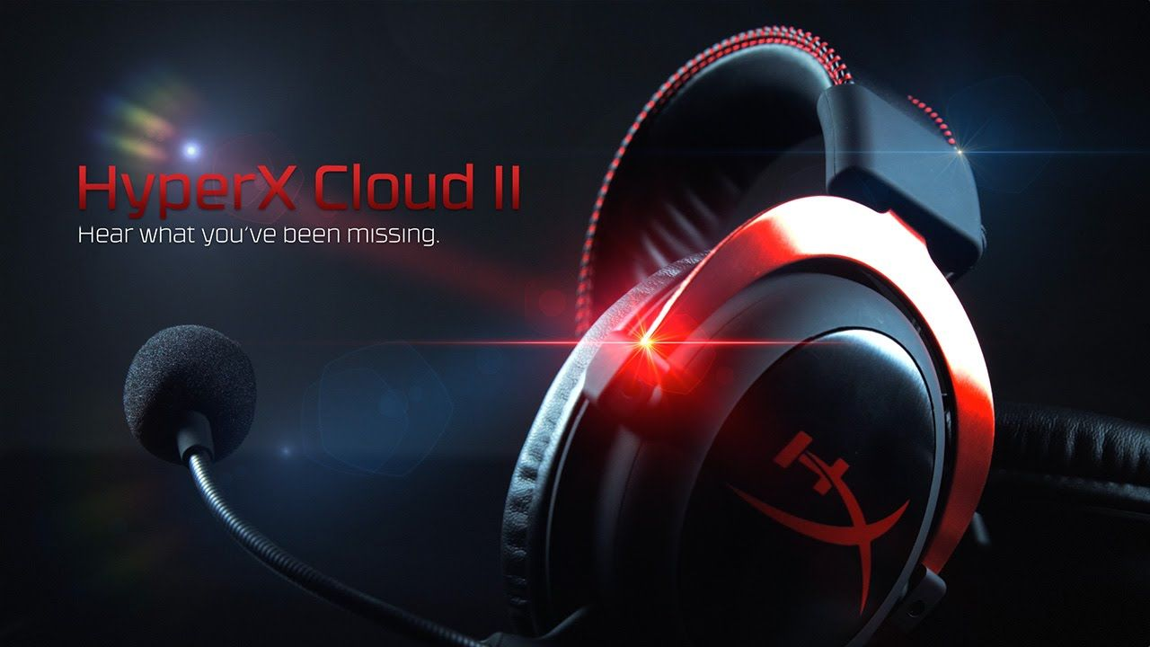 1280x720 USB Gaming Headset for Superior Audio Performance | HyperX Cloud II ...