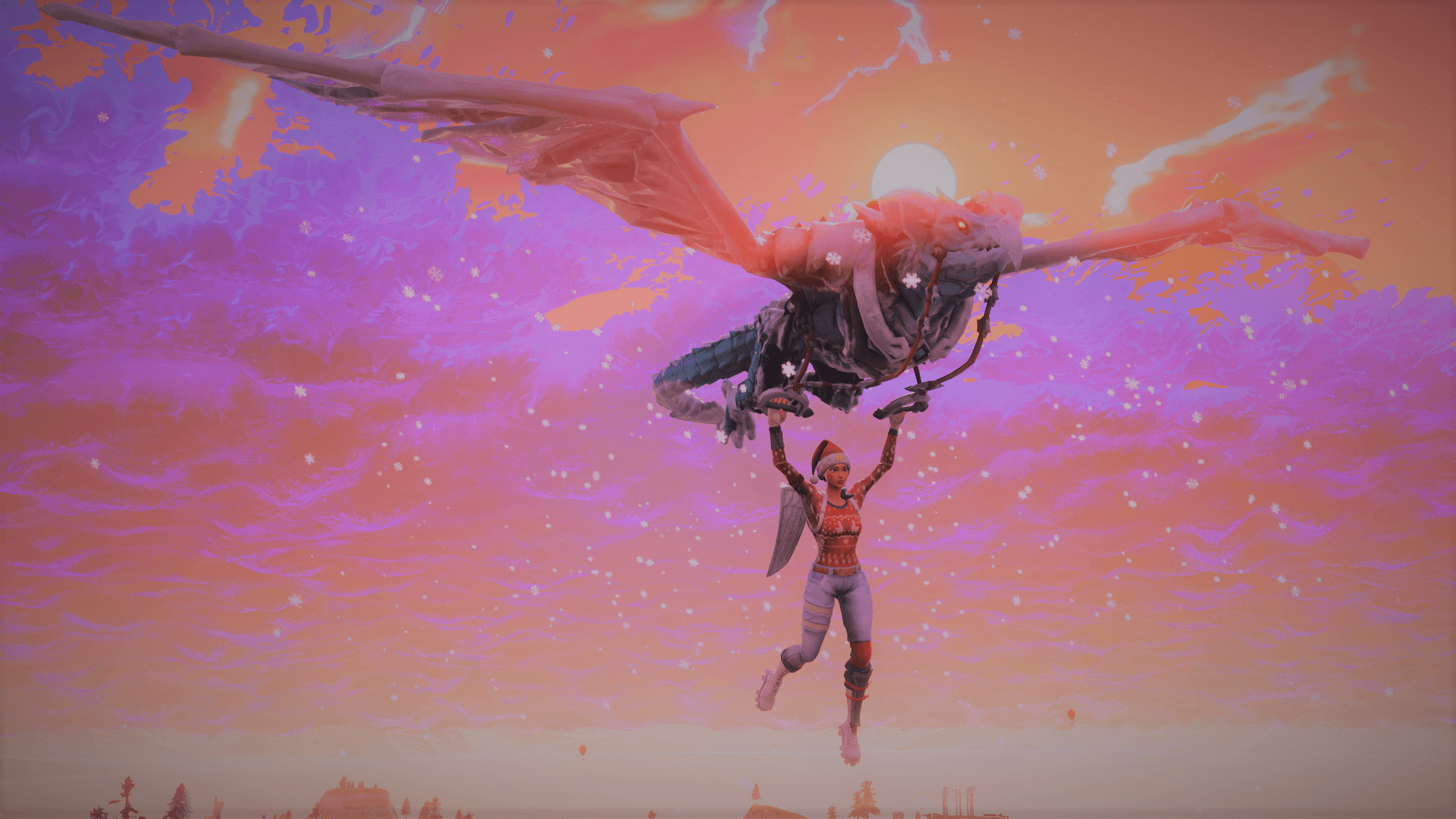 1920x1080 Some background pics of the new Glider with Nog Ops : FortNiteBR