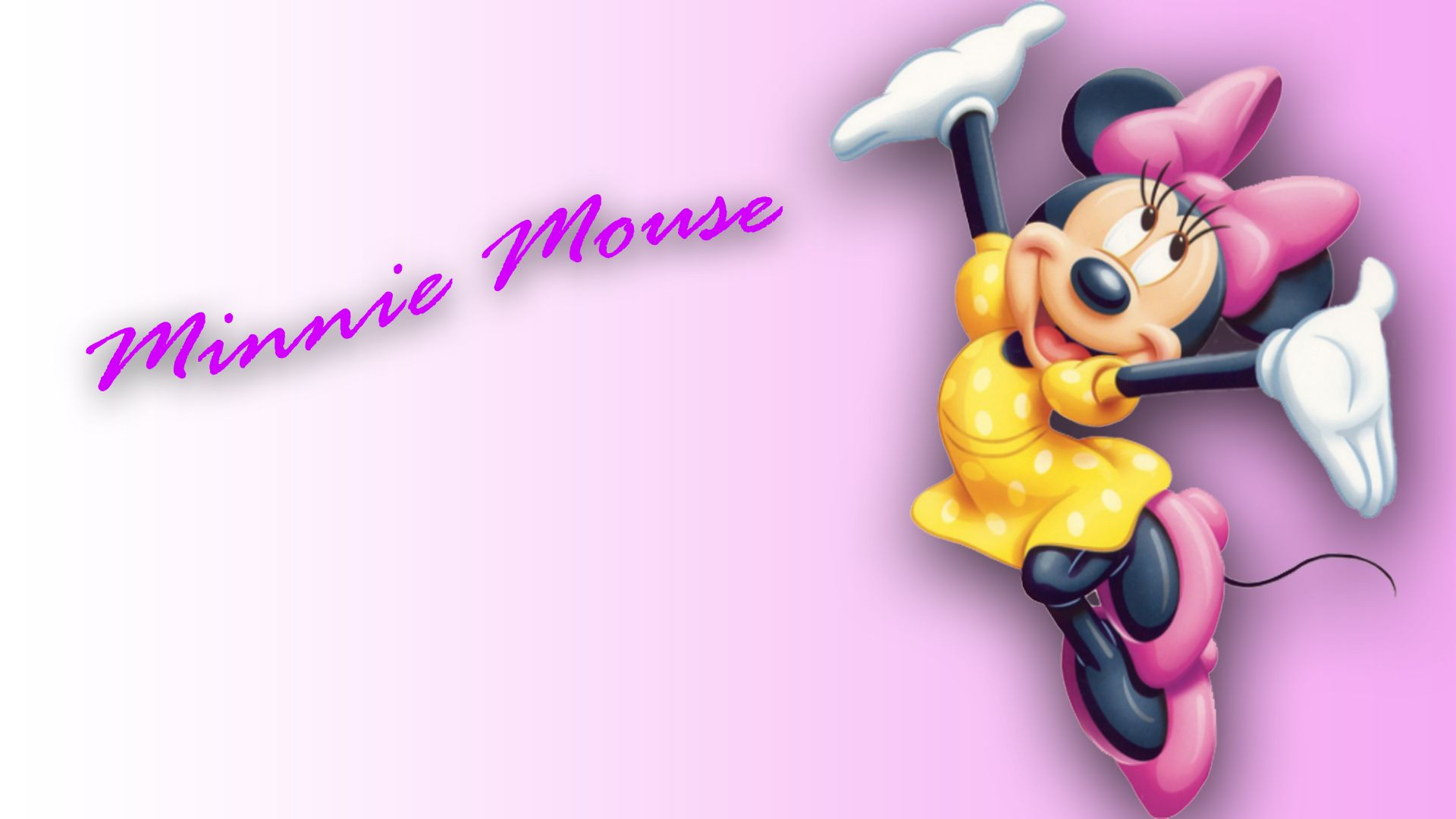 1920x1080 Minnie Mouse Cute Wallpaper - HD Wallpapers