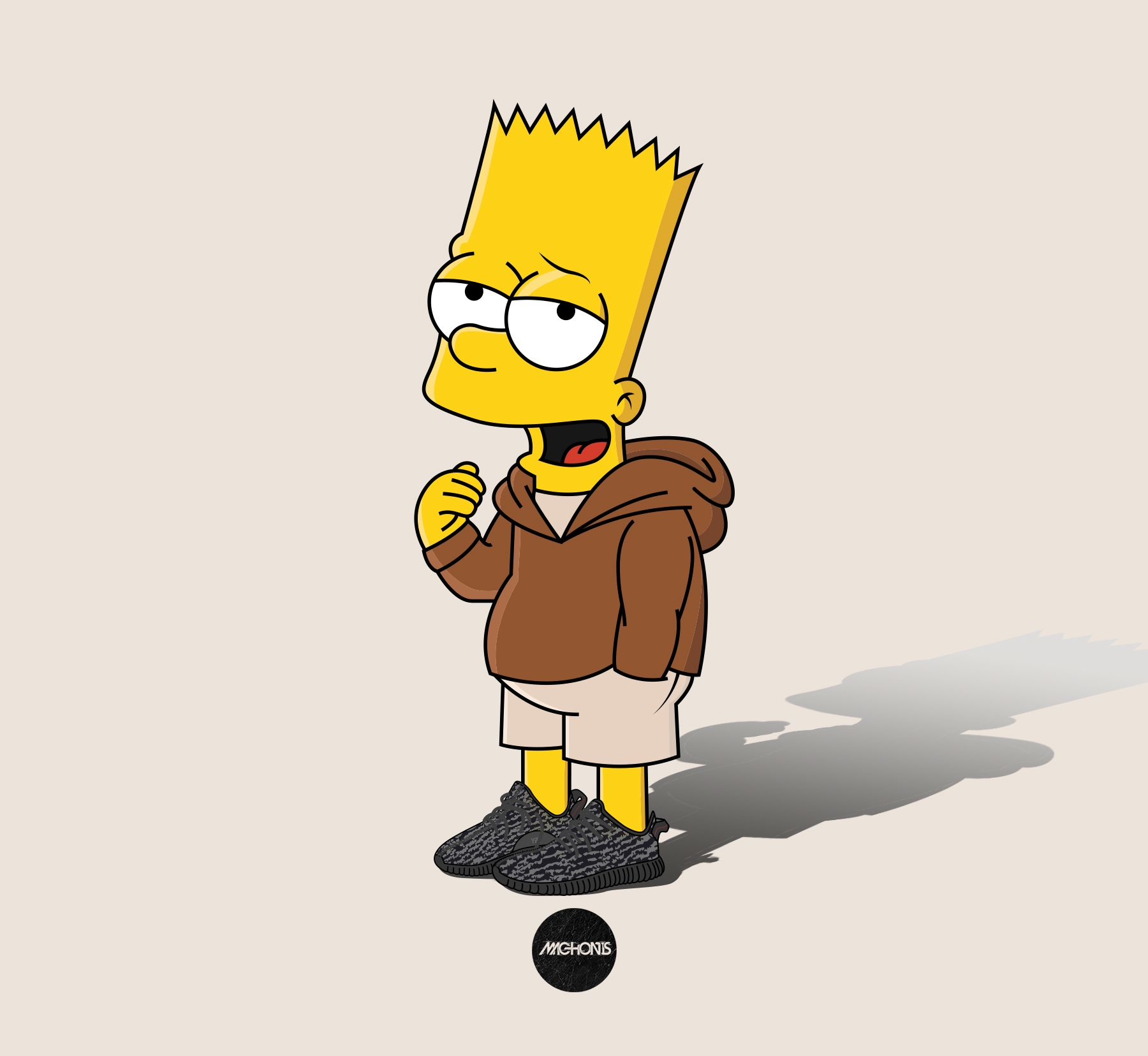 1800x1656 Bart Simpson Instagram 94592 | LOADTVE