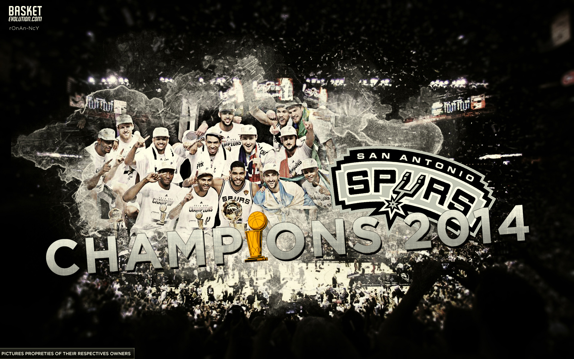 1920x1200 San Antonio Spurs Browser Themes, Wallpapers and More - Brand Thunder