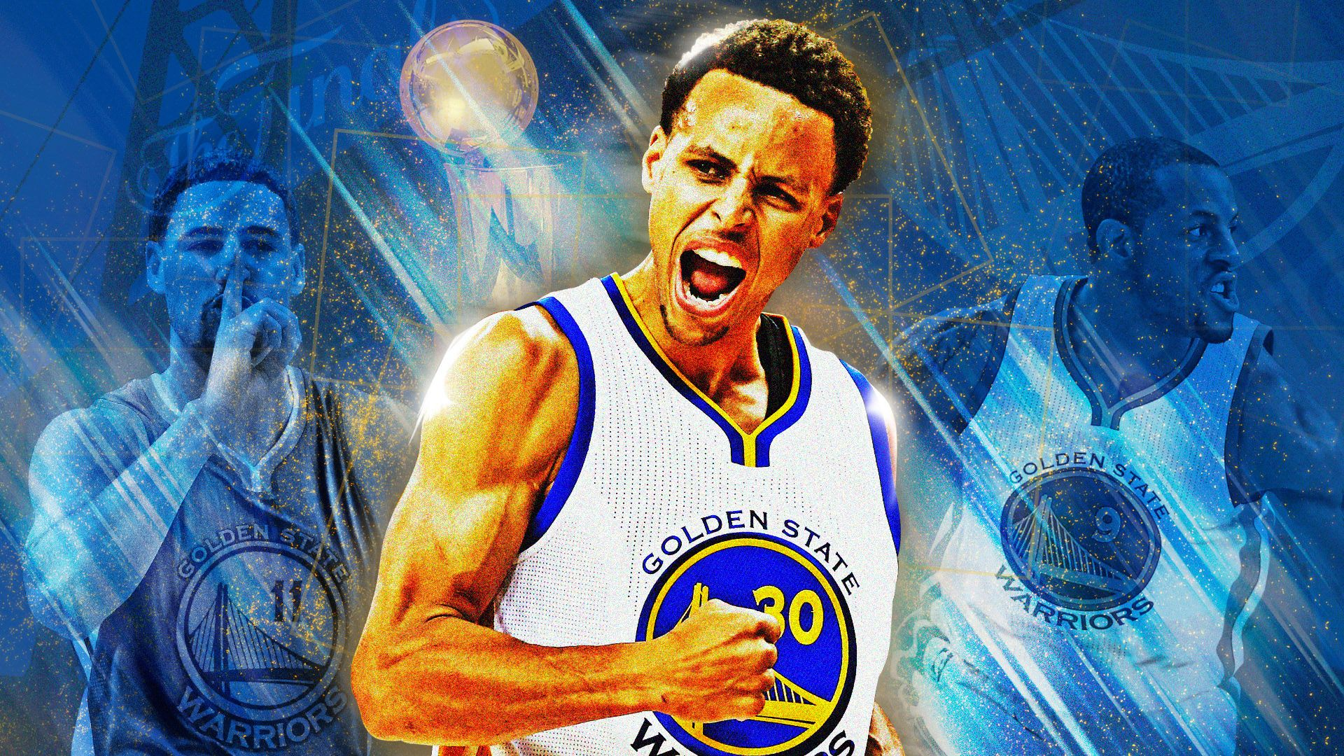 1920x1080 Stephen Curry lead Golden State Warriors to the 2015 NBA ...