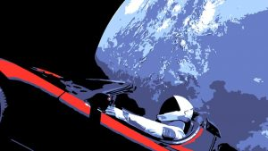 Tesla in Space Wallpapers – Top Free Tesla in Space Backgrounds