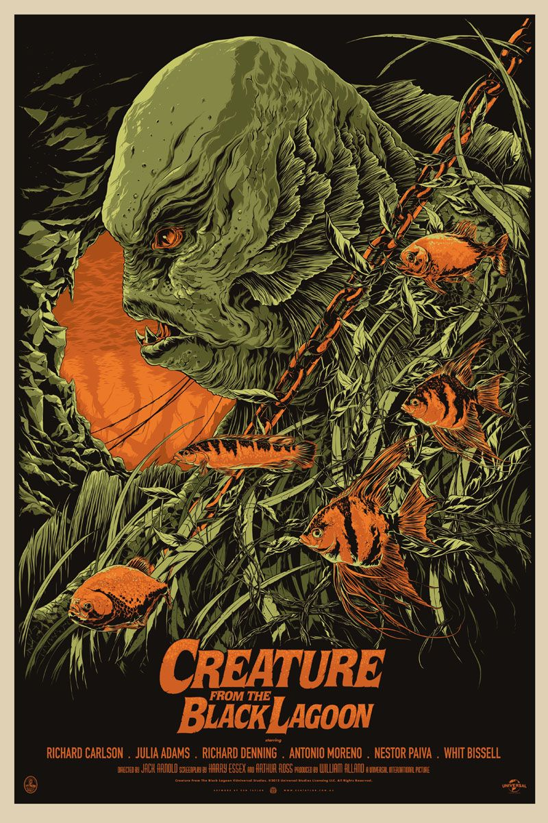 800x1200 creature from the black lagoon wallpaper Gallery (52+ images)