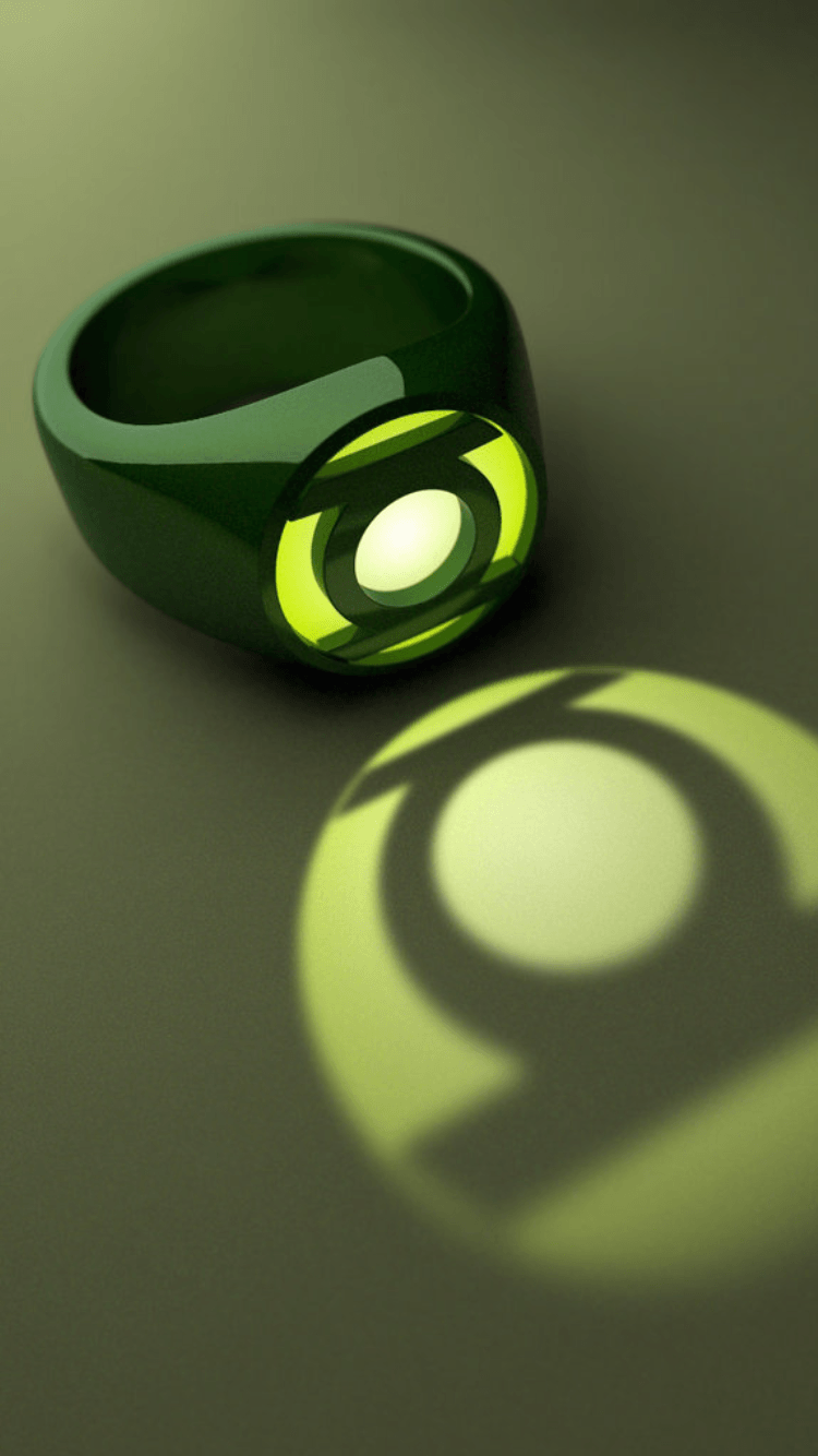 750x1334 Green Lantern Ring iPhone Wallpaper | Heroes & Villains ...