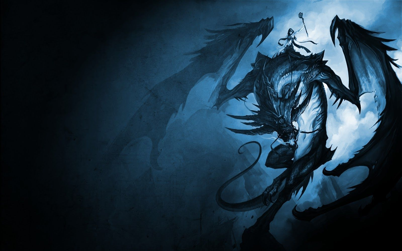 1600x1000 Night Dragon Wallpapers